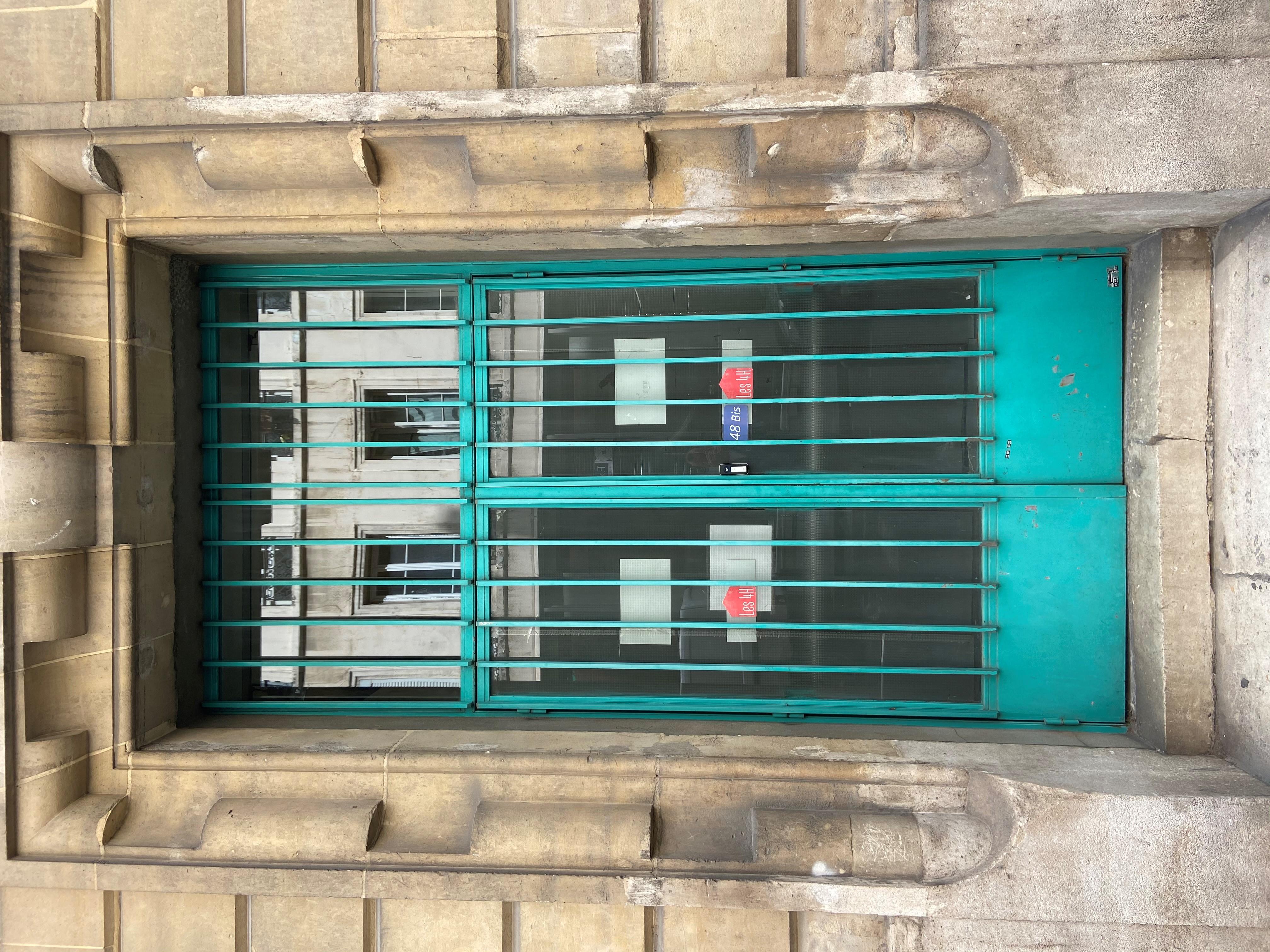 photo entrée 48 bis rue Traversière